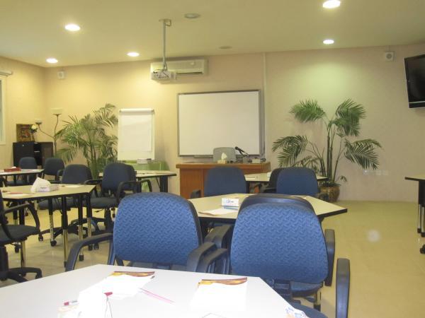 غرفة التدريب في المركز