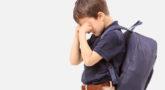 طفلي يبكي عندما يذهب إلى المدرسة